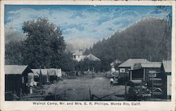 Walnut Camp, Mr. and Mrs. E.R. Phillips