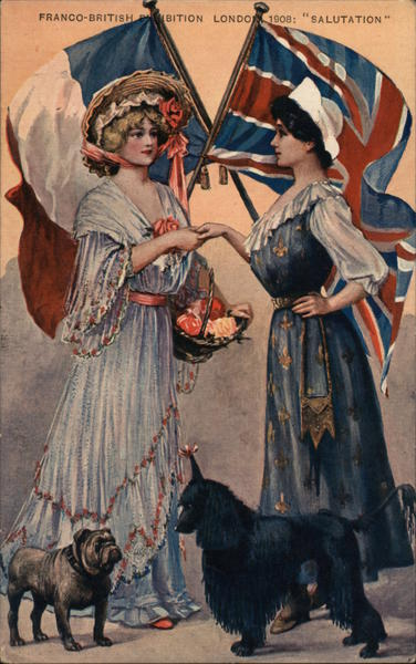 Franco-British Exhibition, London 1908: Salutation UK