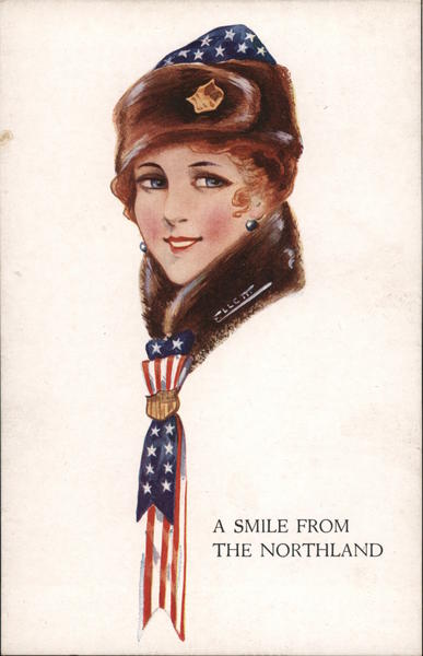 A Smile From The Northland Patriotic