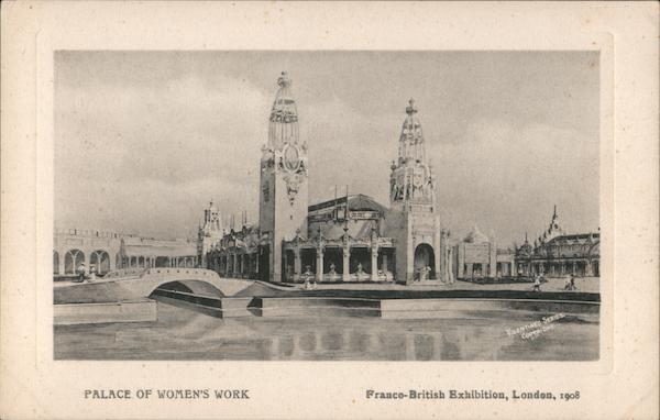 Palace of Women's Work, Franco-British Exhibition, London, 1908 UK