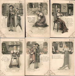 "Lot of 6 ""Faust"" Postcard"