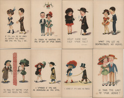 Lot of 8: Children Couples