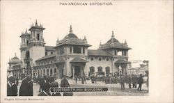 Electricity Building - Pan American Exposition 1901 Postcard
