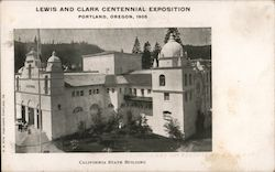California Building - Lewis and Clark Centennial Exposition Postcard