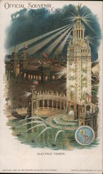 Electric Tower, Pan American Exhibition 1901 Postcard