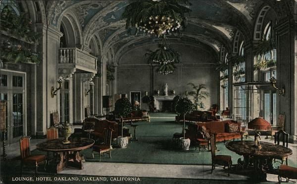 Lounge, Hotel Oakland California