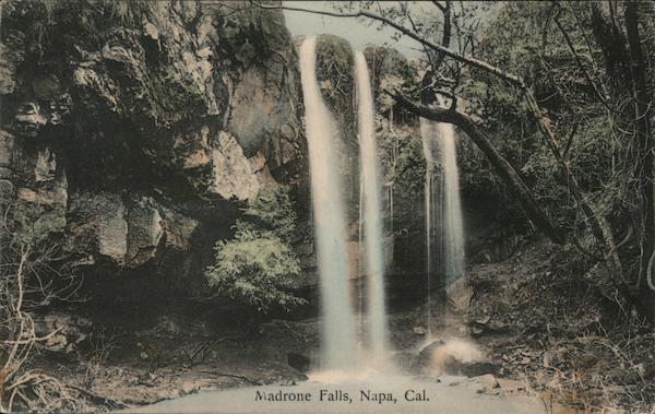 Madrone Falls Napa California