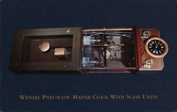 Wenzel Pneumatic Master Clock with Slave Units David Weckler of Photo West