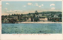 Casa Los Olas, residence of Mr. Jas. A. Murray Postcard