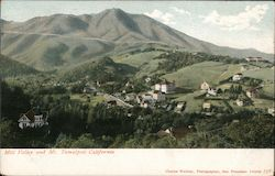 Mill Valley and Mt. Tamalpais Postcard