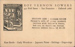 Roy Vernon Sowers Postcard