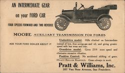 Pratt & Williams, Inc. Postcard