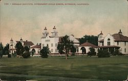 Sherman Institute, Government Indian School Postcard