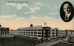 Ford Motor Co. Postcard