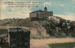 The Old Hotel Washington in 1906