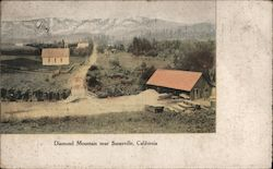Diamond Mountain Postcard