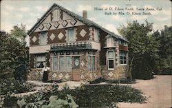 Home of D. Edson Smith, Built by Mrs. D. Edson Smith Postcard