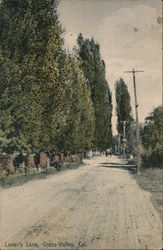 Lover's Lane Postcard