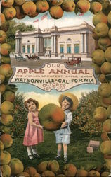 Apple Annual October 10 to 15 - World's greatest apple show Postcard