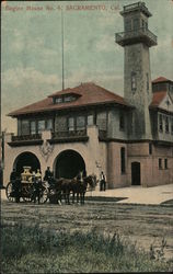 Engine House No. 4 Postcard