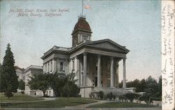 Court House Marin County Postcard