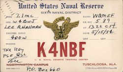 K4NBF - U.S. Naval Reserve Training Center, Sixth Naval District