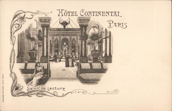 Hotel Continental Paris France