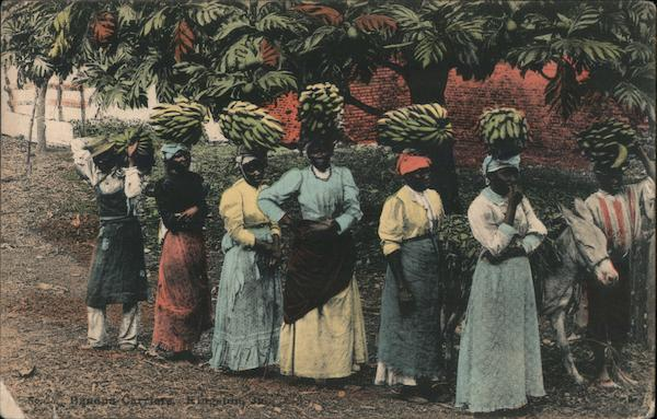 Banana carriers Jamaica H.S. Duperly