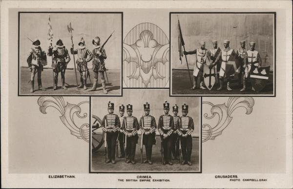 Elizabethan Crime Crusaders - British Empire Exhibition Britain