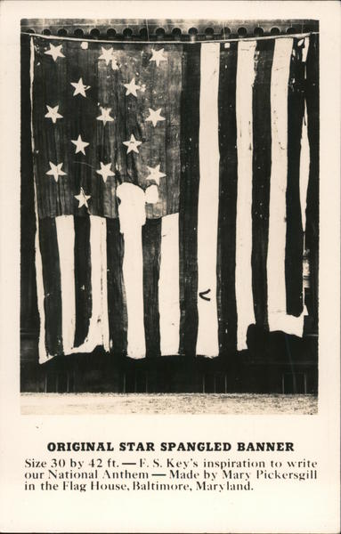 Original Star Spangled Banner Patriotic