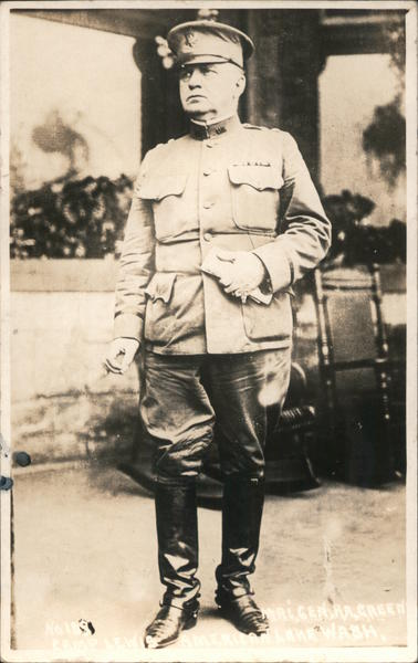 Military officer.
