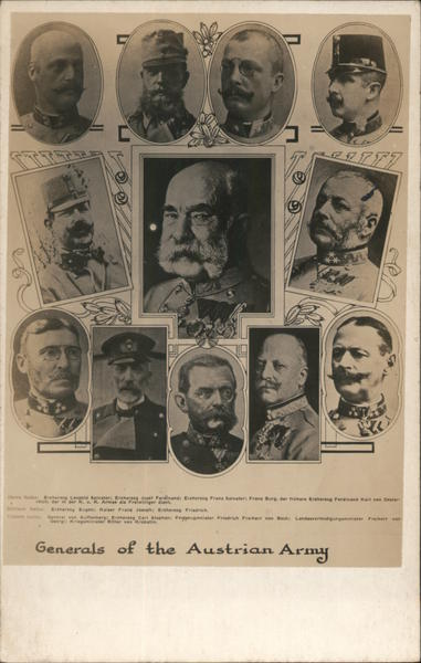 Generals of the Austrian Army Military