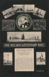 The Nelson Centenary 1905 Postcard