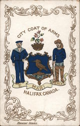 City Coat Of Arms Postcard