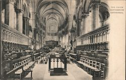 The Choir, Canterbury Cathedral Postcard