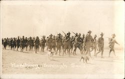 Marching Through Sand, Mexican Border War