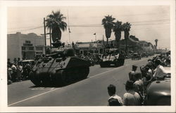 Tanks and Military Trucks on parade