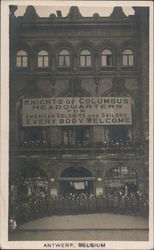 Knights of Columbus Headquarters for American Soldiers and Sailors Postcard