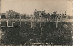 315th Eng'rs. Cemetary, Feu-en-Have, St. Mihiel, Front. Postcard