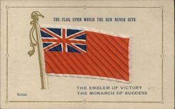 British Flag - The Flag Upon Which the Sun Never Sets Postcard