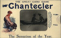 The Great Card Game Chantecler Postcard