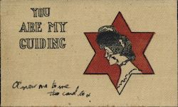 You are my guiding Star - Canvas Postcard Postcard