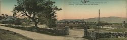 Panoramic View of Fetters' Hot Springs - Club House, Hotel and Bath House Postcard