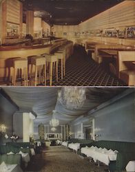 Interior of The Topaz Room Postcard