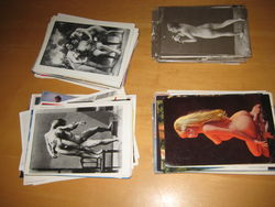 Lot of 200 Risque Nude Erotic Postcards Gay Straight Male Female