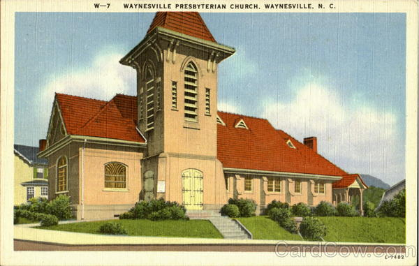 Waynesville Presbyterian Church North Carolina