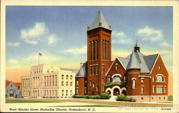 West Market Street Methodist Church Greensboro North Carolina