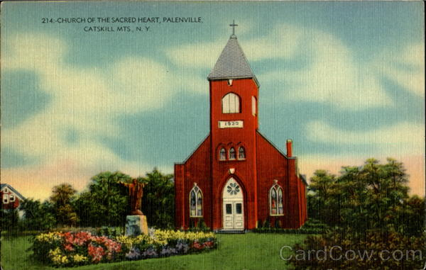 214:- Church of the Sacred Heart Catskill Mountains New York