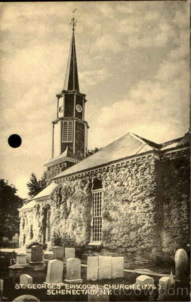 St. Georges Episcopal Church (1776) Schenectady New York