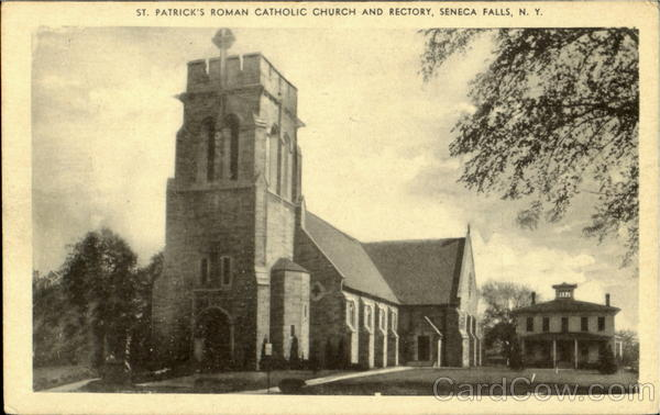 seneca falls catholic singles Held at seneca falls, ny, july 19th and 20th, 1848 after depriving her of all rights as a married woman, if single and the owner of property.